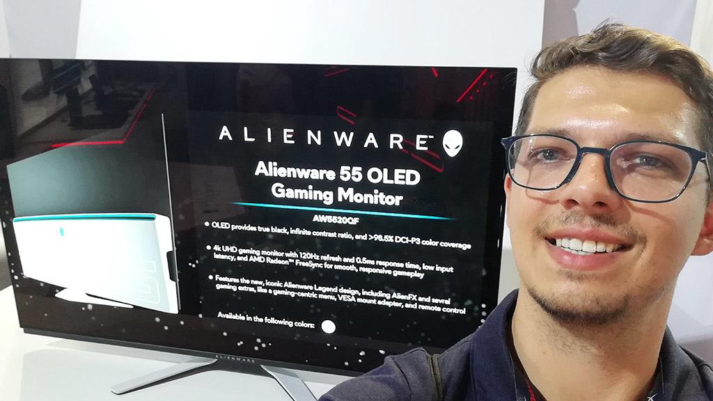 Alienware AW5520QF: 55-Zoll-Monitor für Gamer