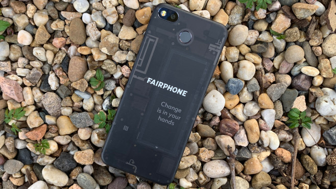 Fairphone 3 Rückseite©COMPUTER BILD