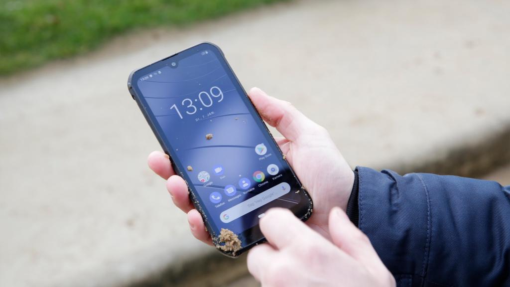 Gigaset GX290: Outdoor-Smartphone im Härte-Test