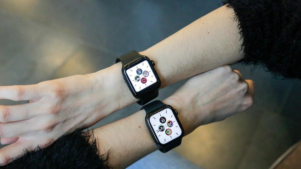 Wish Apple-Watch-Klon und das Original