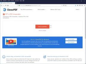 PowerPoint (PPT) in PDF umwandeln