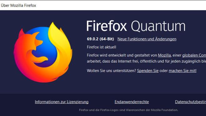 Firefox 69©Mozilla, COMPUTER BILD
