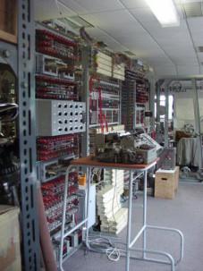 Mit dem Colossus-Computer entschlüsselten die Briten deutsche Funksprüche.
