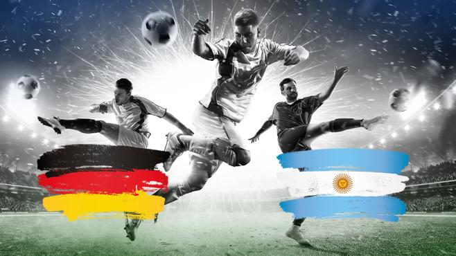 Deutschland - Argentinien©iStock.com/Eugene_Onischenko, iStock.com/chekat