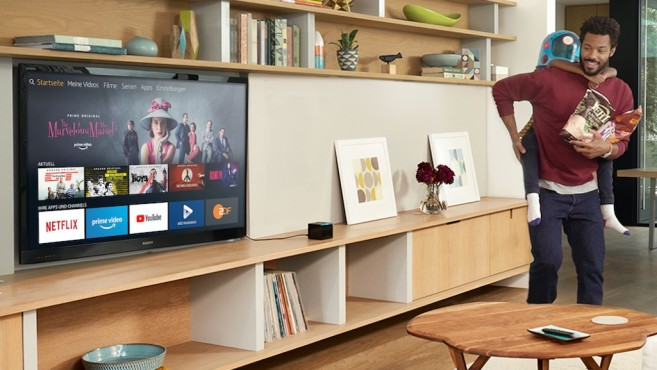 Amazon Fire TV Cube: Sprachsteuerung © Amazon