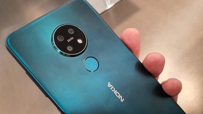 Nokia 7.2 Grün©COMPUTER BILD