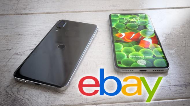 iPhones auf Ebay©Apple / Ebay (Fotomontage)