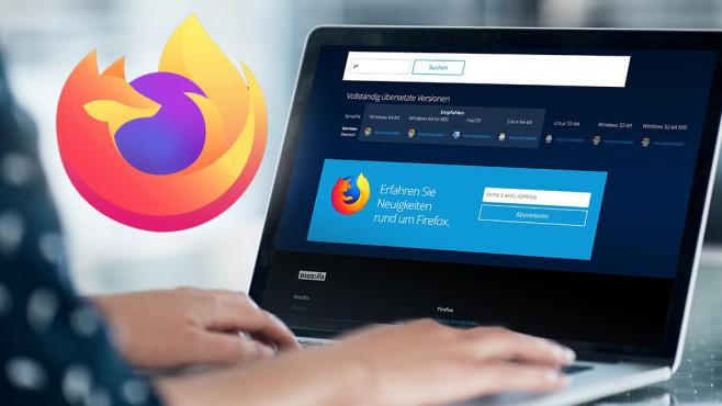 Neues Mozilla-Firefox-Logo©Mozilla, COMPUTER BILD, iStock.com/shapecharge