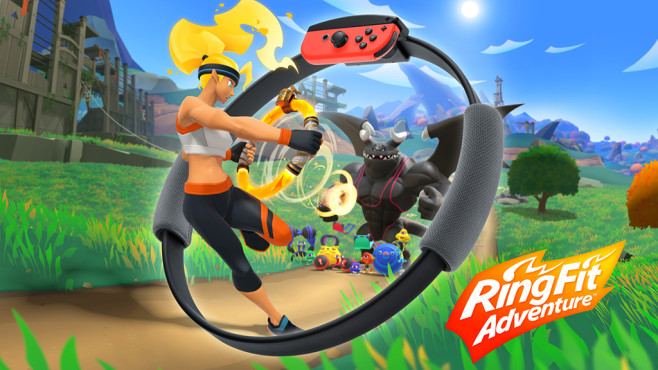 Ring Fit Adventure Spiele Logo©Nintendo