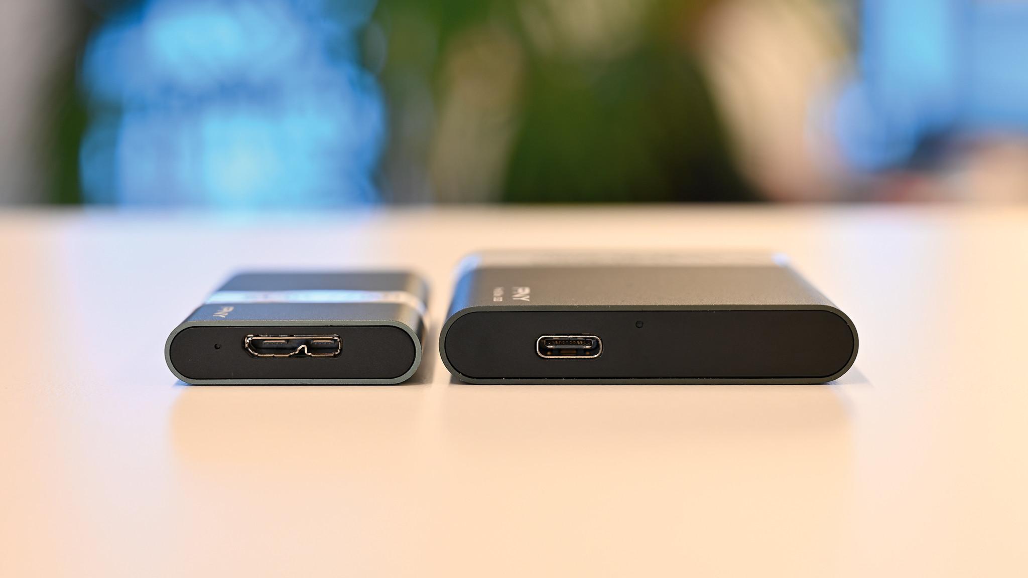 PNY Portable SSD Pro Elite und Elite©COMPUTER BILD