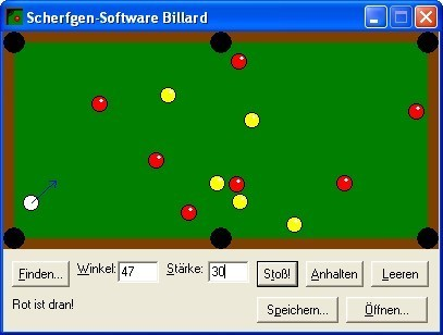 Screenshot 1 - Billard