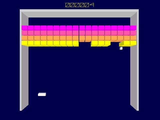 Screenshot 1 - Breakout 3D