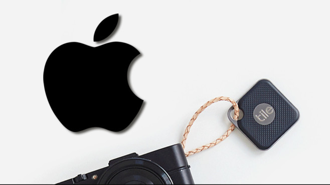 Tracking-Anhänger von Apple©Tile / Apple (Fotomontage)