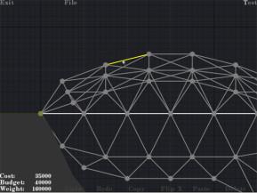 Bridge Building Game