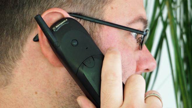 Mein erstes Handy: Motorola T180©COMPUTER BILD