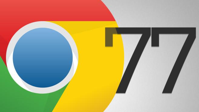 Chrome 77©Google