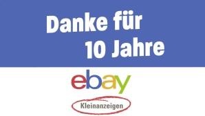 10 Jahre Ebay Kleinanzeigen©Ebay