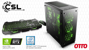 ASUS Gaming-PC mit Modern Warfare bei Otto © Otto, ASUS