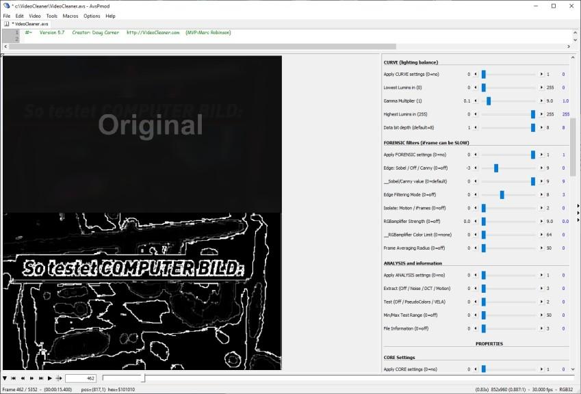 Screenshot 1 - VideoCleaner