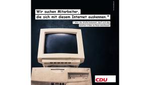 CDU Stellenanzeige©CDU, Facebook
