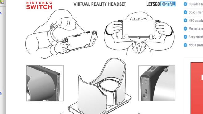 Nintendo Switch: VR-Brille©Nintendo / nl.letsgodigital.org