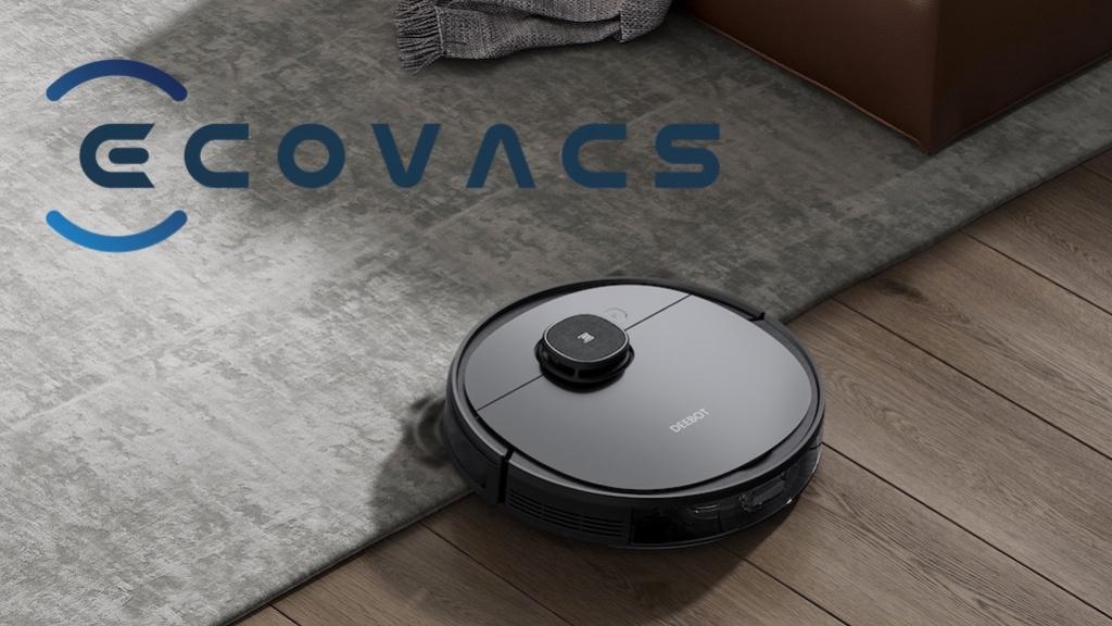 Ecovacs: Putzroboter mit Laser-Technik saugt und wischt auf drei Etagen