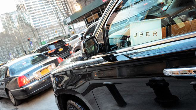 Uber Fahrdienst © iStock.com/nycshooter