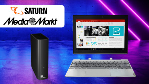 Media Markt und Saturn: Online-Deals © Saturn, Media Markt, Lenovo, WD, iStock.com/ivanmollov