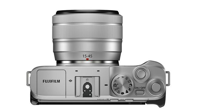 Fujifilm X-A7 – Oberseite©Fujifilm