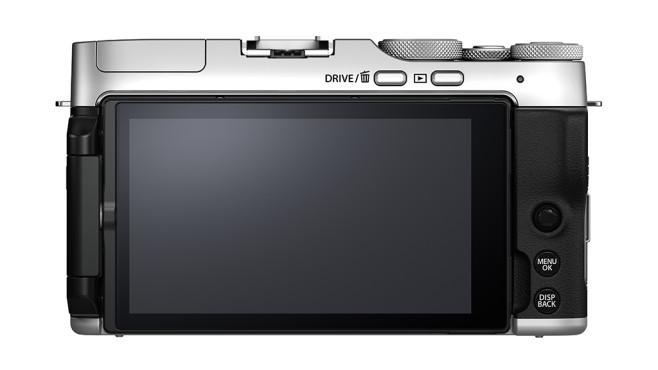 Fujifilm X-A7 – Rückseite mit großem Display©Fujifilm