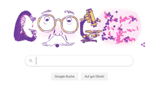 Google Doodle: Hans Christian Gram©Google