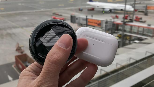 Noise-Cancelling: Huawei gegen Apple©COMPUTER BILD