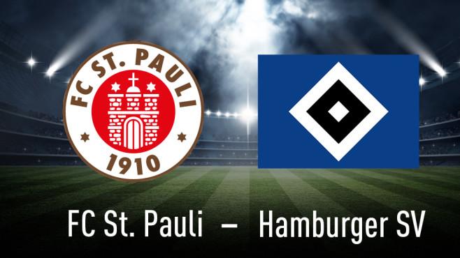 St. Pauli gegen HSV©FC St. Pauli, Hamburger Sportverein