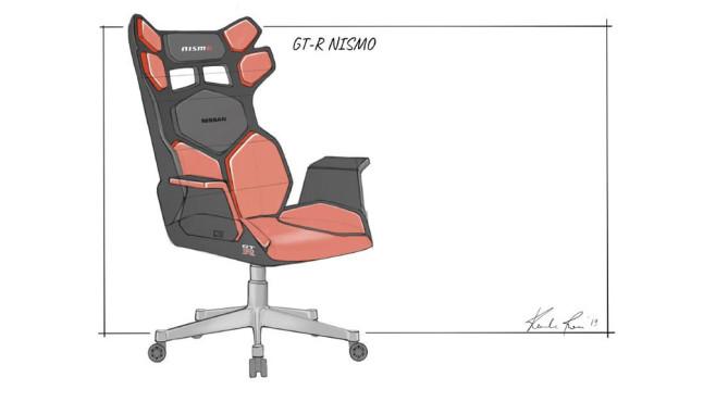 Nissan Gaming-Stuhl©Nissan