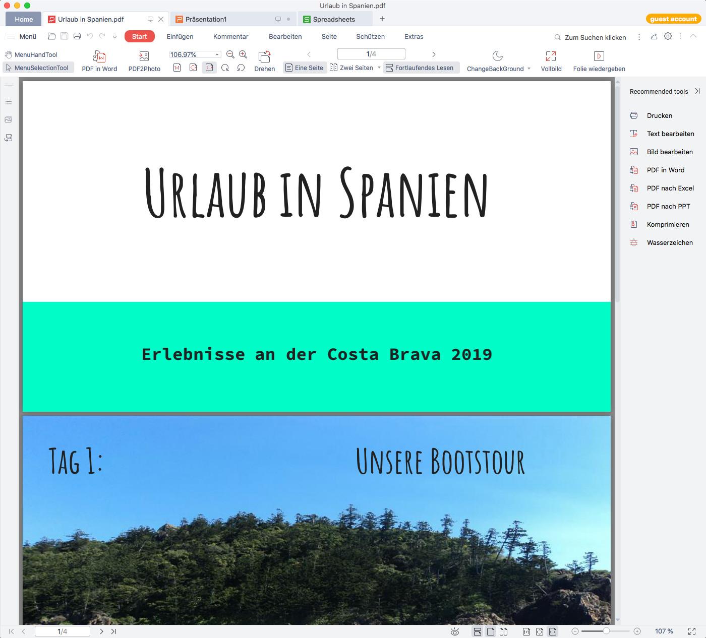 Screenshot 1 - WPS Office (Mac)