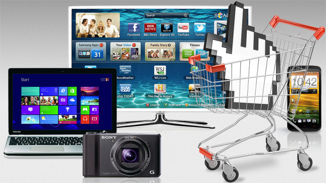 Kaufberatung für TV, Handy, Kamera, Notebook©Dreaming Andy - Fotolia.com, HTC, Samsung, Sony, Medion