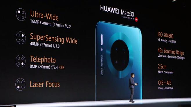 Huawei Mate 30©COMPUTER BILD