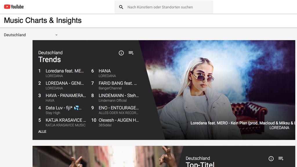 Manipulation auf YouTube: Neue Regelung soll Musik-Charts schützen