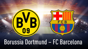Borussia Dortmund - FC Barcelona©Borussia Dortmund, FC Barcelona, iStock-Fotos Mannschaftssport