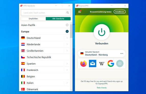ExpressVPN: VPN-App©ExpressVPN