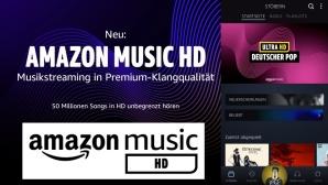 Amazon Music HD jetzt verfügbar©Amazon, COMPUTER BILD