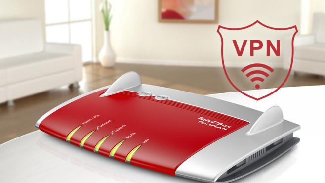 VPN: FritzBox einrichten©AVM