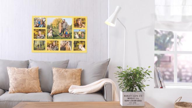 Cewe: Wandbilder mit herbstlichen Fotomotiven©CEWE