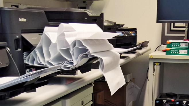 Drucker druckt nicht: Papierstau©COMPUTER BILD