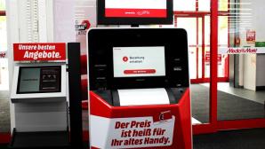 Media Markt: Handy-Automat©Media Markt