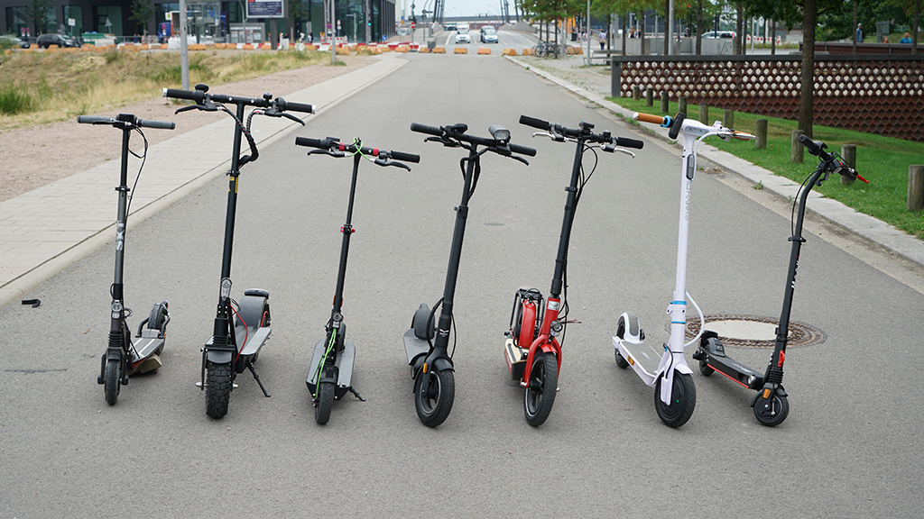 Der große E-Roller-Test: Aktuelle Scooter im Vergleich