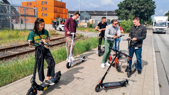 Rollerfahrer©COMPUTER BILD