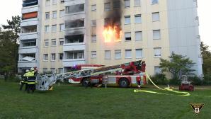 Wohnungsbrand in München©Facebook / Feuerwehr München