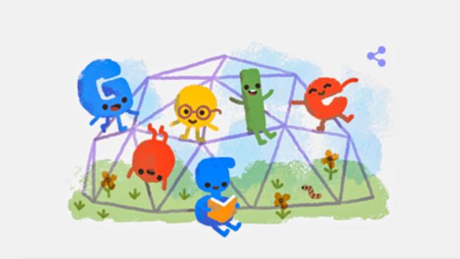Google Doodle: Weltkindertag©Google