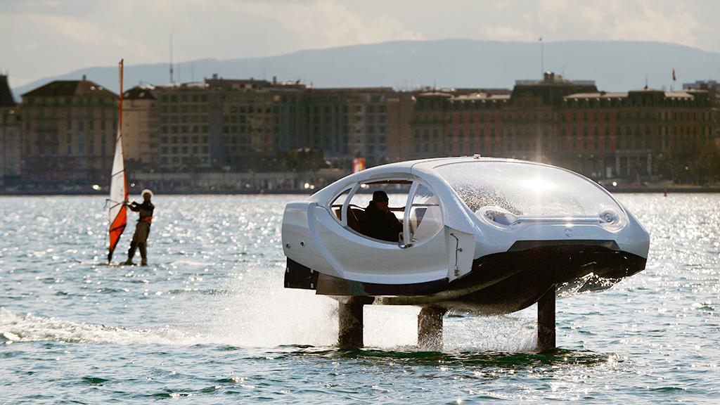 SeaBubbles: Fliegende Boote im Test gegen den Staus in Paris